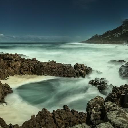 Piscina natural en Punta Roncudo