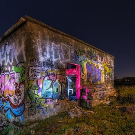 Graffiti's en la helada