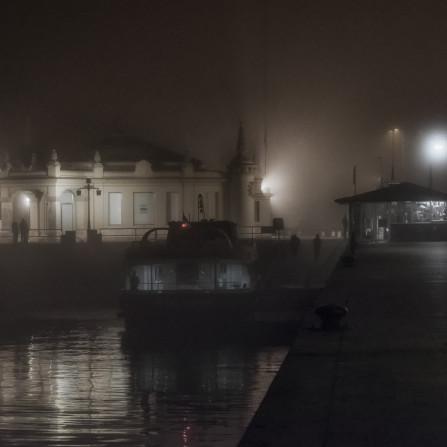 Niebla en El Embarcadero
