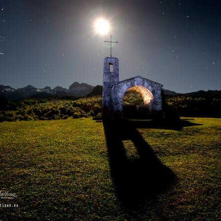 La Capilla del Buen Pastor en la Vega de Enol