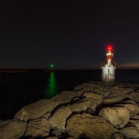 Faro señalización San Vicente de la Barquera