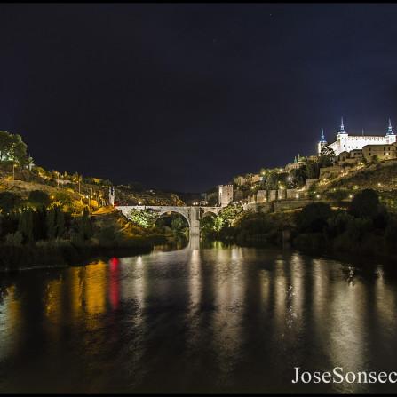 Toledo en la noche