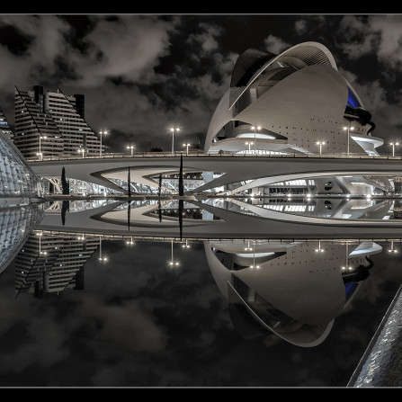 Ciudad de las Artes y las Ciencias(Reflejos)