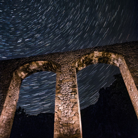 Acueducto a la estrellas