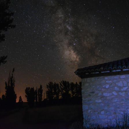 Desde la ermita en Albendea.
