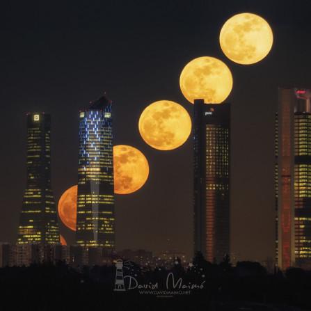 Secuencia de Super Luna