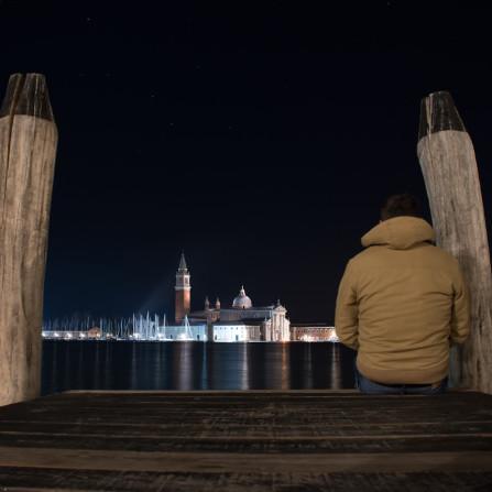 Anochecer en Venecia