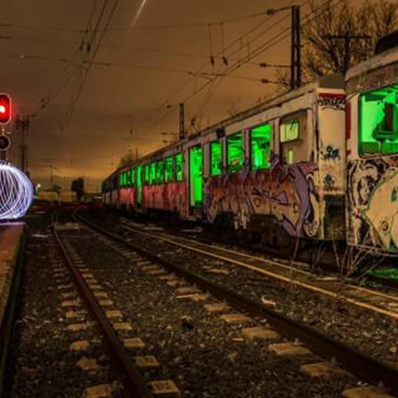 El tren abandonado