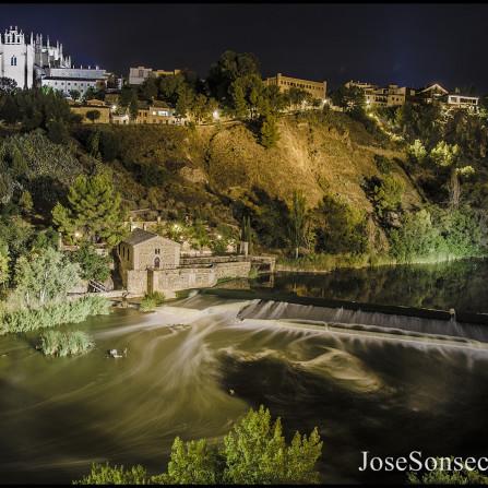 Toledo , Río Tajo y San Juan de los Reyes