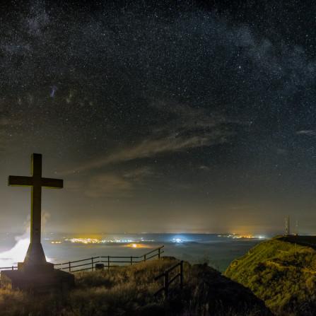 Mirador  cruz de las ripas, Alcolea de Cinca, Huesca