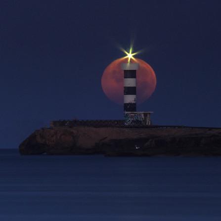 Luna faro Colonia de Sant Jordi