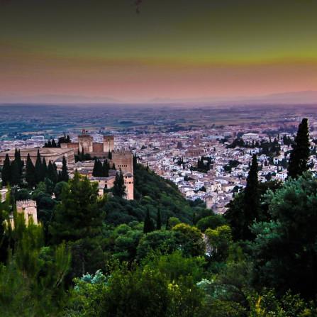 Mirador del Moro - Alhambra