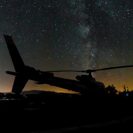 Milky way over B3