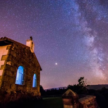 Ermita de San esteban, Noche de estrellas