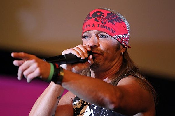 Bret michaels pictures from the 80s