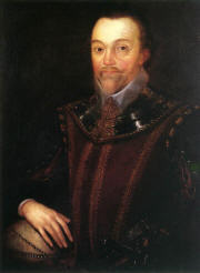 A picture of francis drake