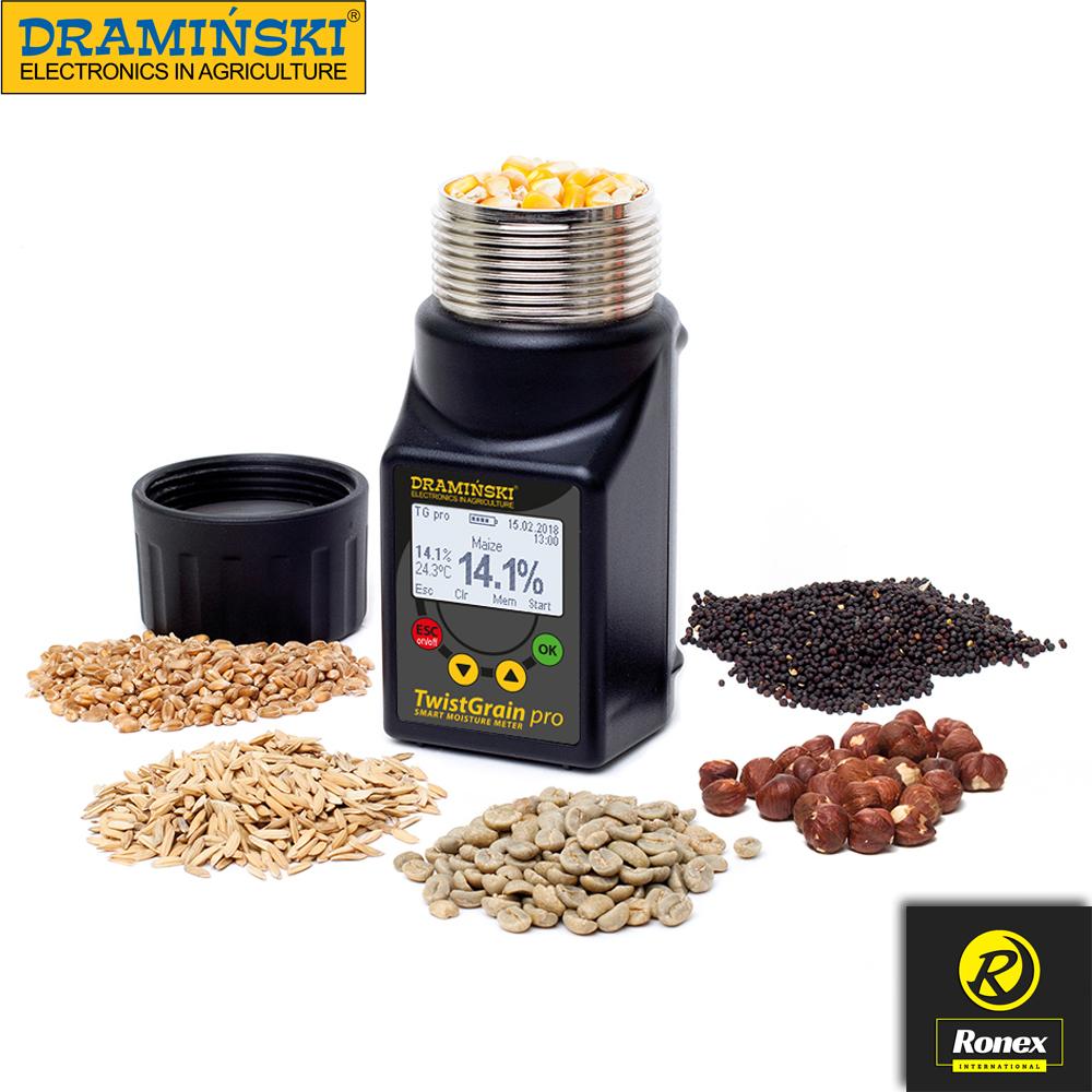 DRAMINSKI Grain Moisture Meter Twi