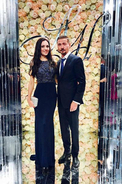 Денис Никифоров с супругой