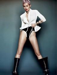 Голая актриса, певица Miley Cyrus фото, эротика, картинки - фотосессия из мужского журнала GQ на Xuk.ru! Фото 56