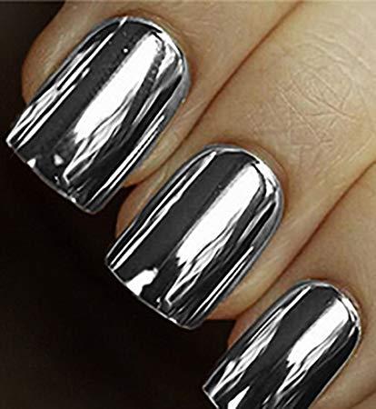 Minx silver nails