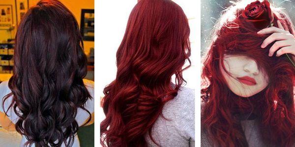 В какой цвет можно перекрасить красные волосы
