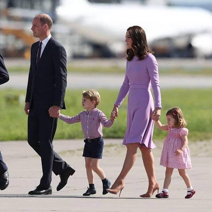 Члены английской королевской семьи