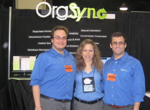 Team OrgSync @ NACA National Booth