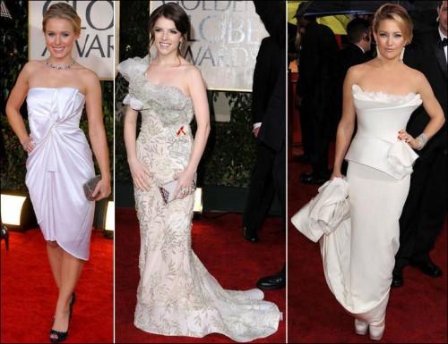 Celebrities red carpet dresses 2010