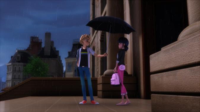 Леди Баг и Супер Кот зонт мамы