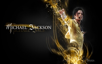 обоя музыка, michael, jackson, певец, жест, микрофон