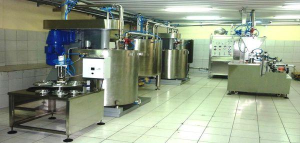 Мини цех по производству шоколада