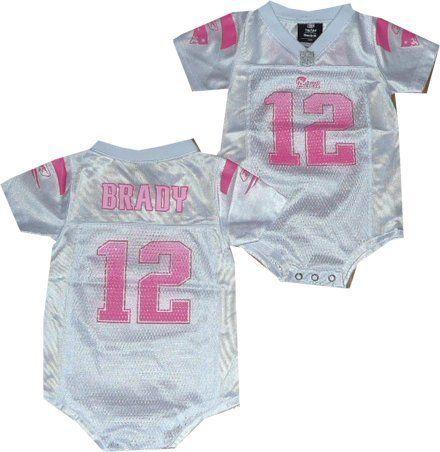 Baby girl tom brady jersey