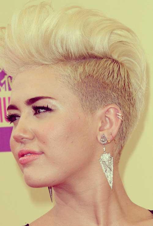 Short hairstyle celebrities