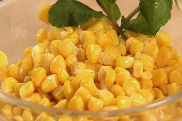 Кукуруза в зернах на зиму