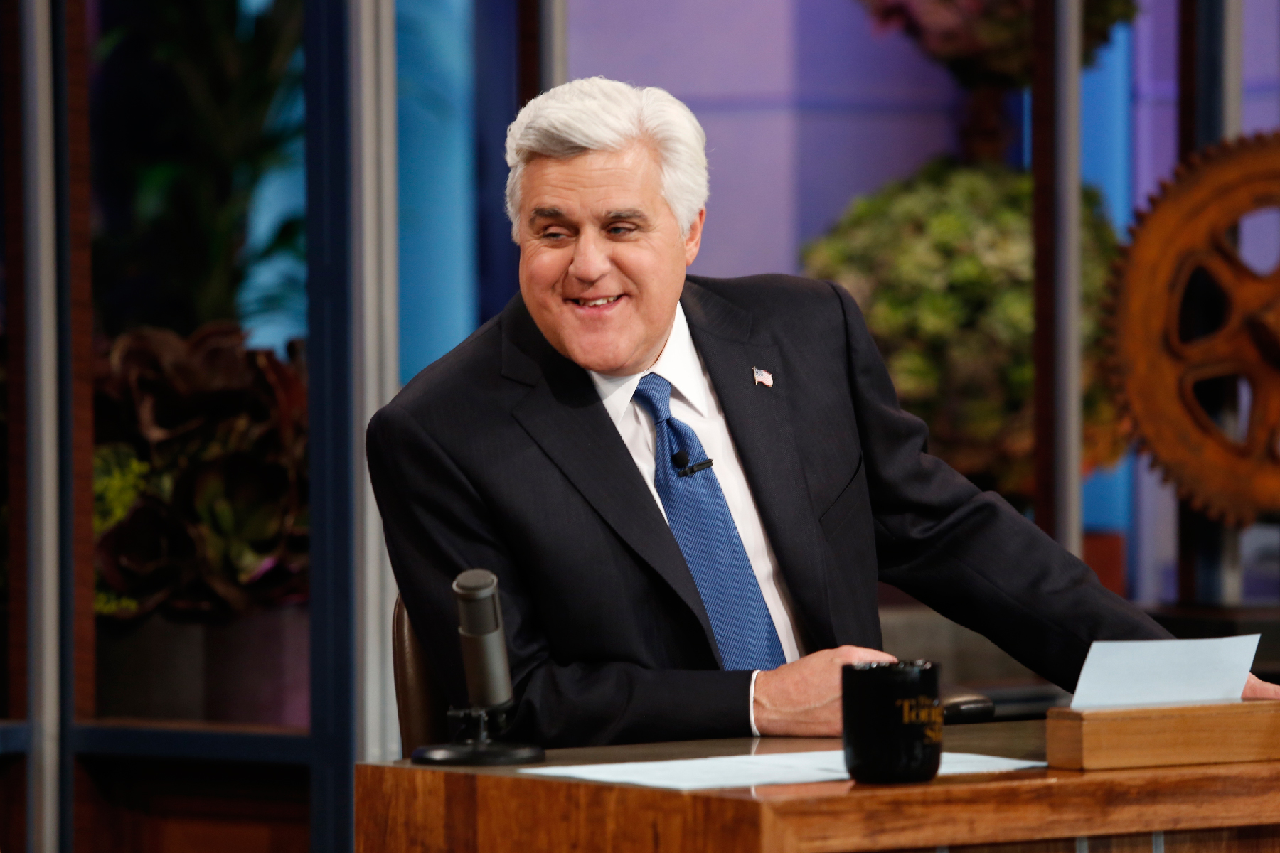 How long has jay leno been hosting the tonight show