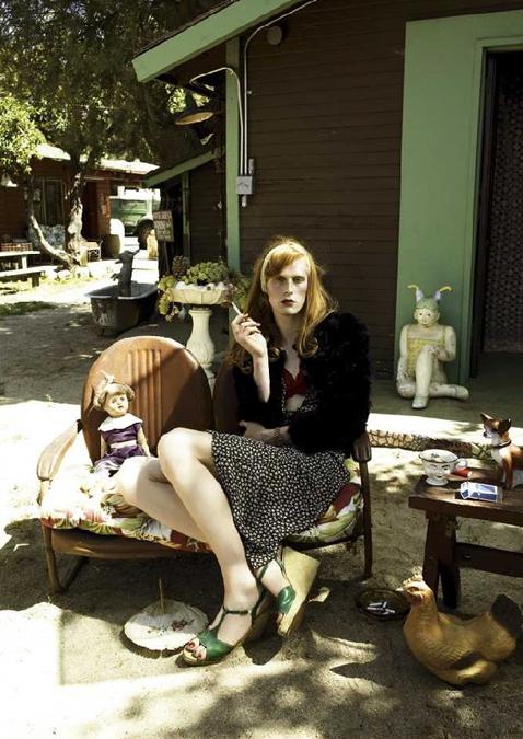 Данила Поляков в фотосессии Стивена Майзела для Vogue Italy (2006 год)