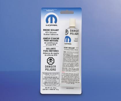Mopar silicone rubber adhesive sealant