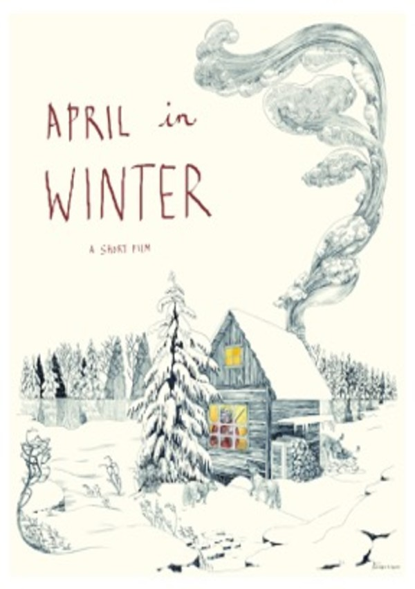 April In Winter poster