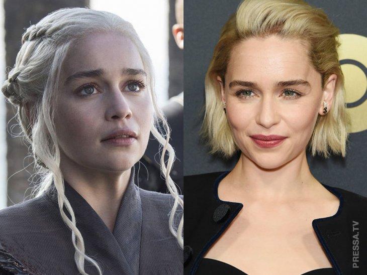 Актеры в игре престолов
