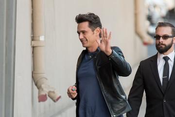 James Franco James Franco Stops by 'Jimmy Kimmel'