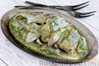 Фото к рецепту: Селедка в горчичном маринаде