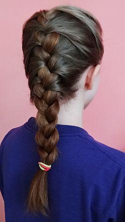 Rihanna french braids