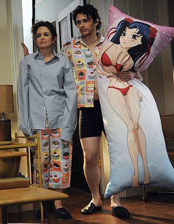 James franco pillow girlfriend