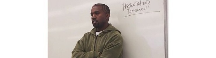 Professor West Is In The Building -- Kanye Teaching Fashion Course
