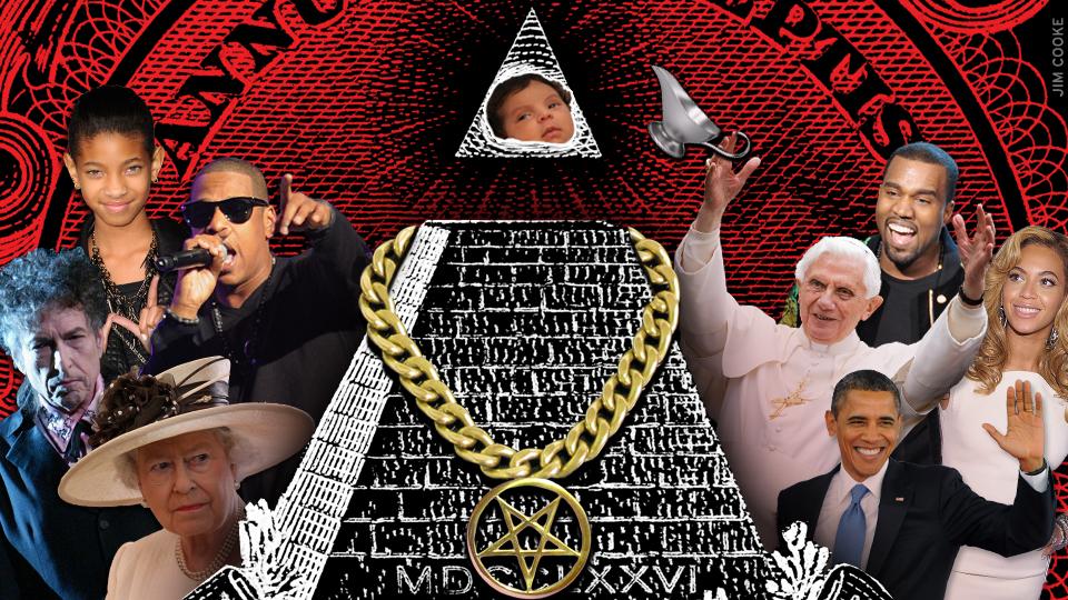 Celebrities in the illuminati cult