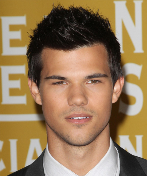 Taylor Lautner Short Straight   Black    Hairstyle