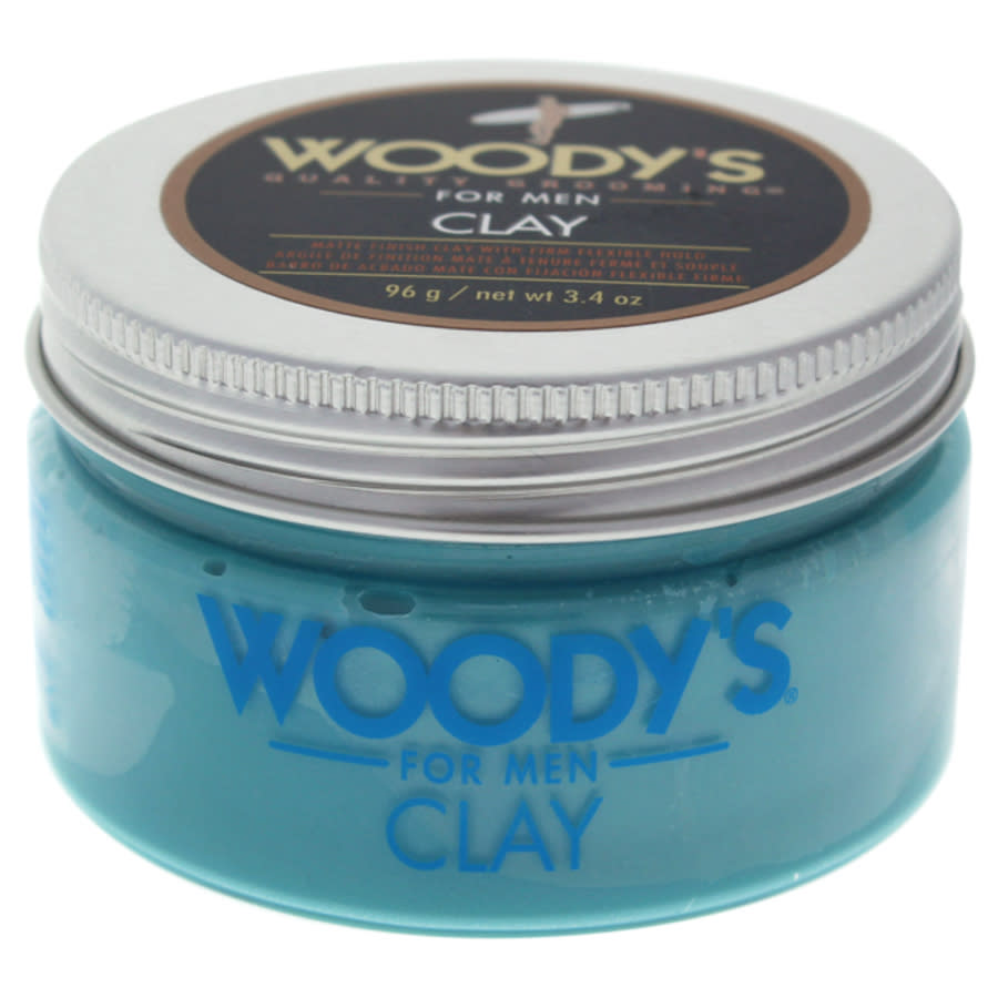 Woodys Matte Finish Clay By  For Men - 3.4 oz Styling In N,a