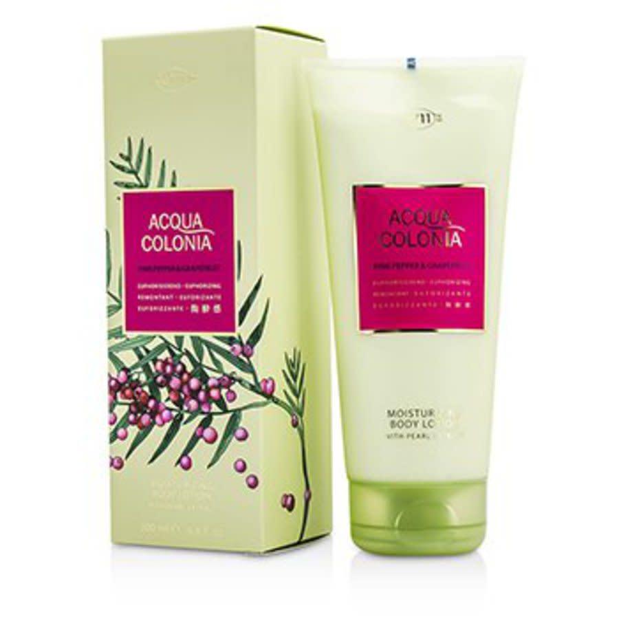 4711 Unisex Acqua Colonia Pink Pepper & Grapefruit Lotion 6.8oz Bath & Body 4011700744473