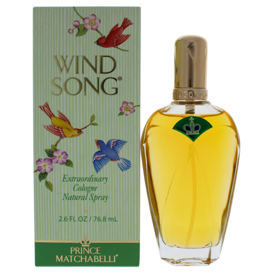 Prince Matchabelli Wind Song /  Cologne Spray 2.6 oz (w) In Transparent