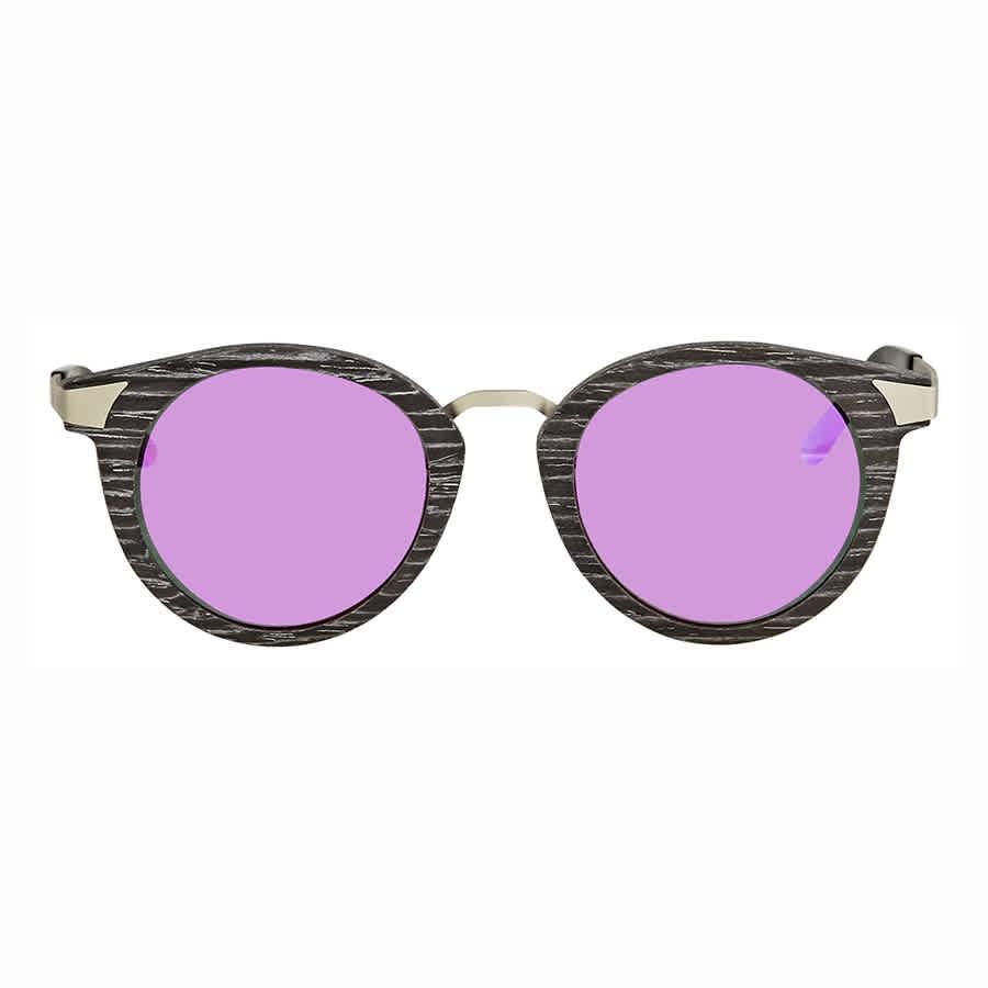 Earth Zale Wood Sunglasses In Black